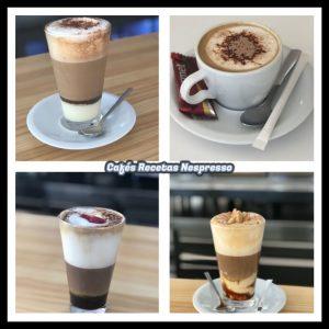 Café recetas cuadro negro