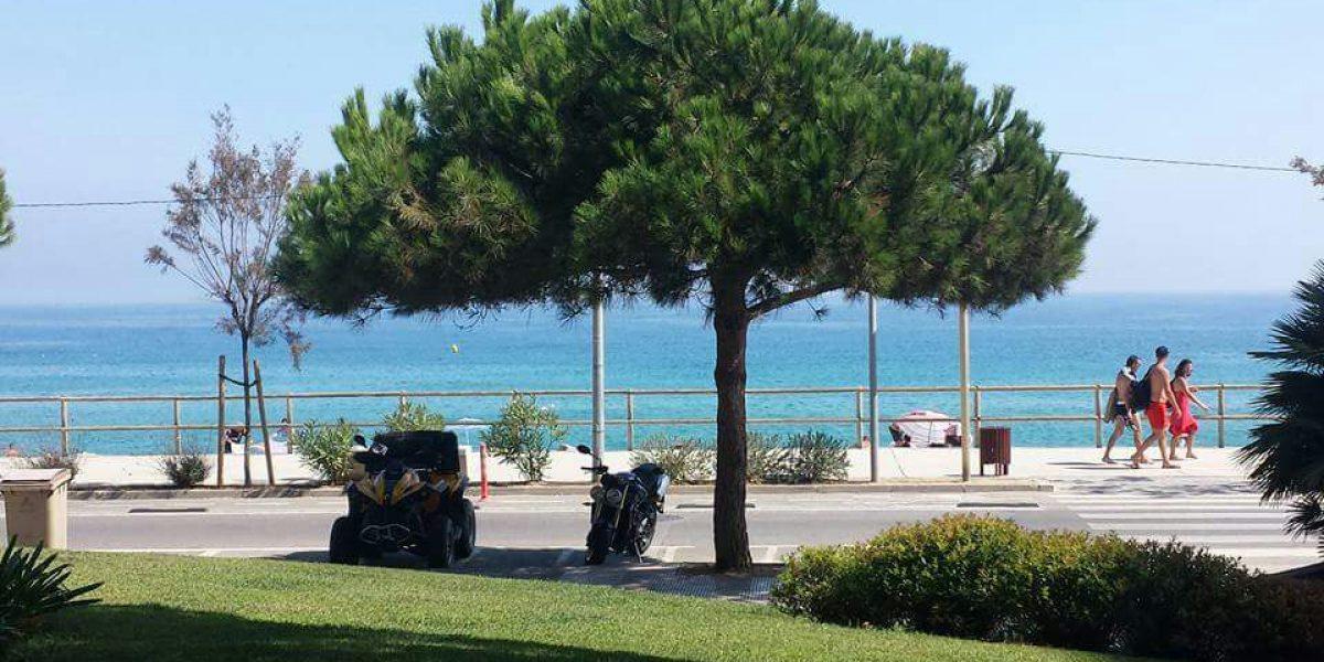 Blanes - Playa de S'Abanell