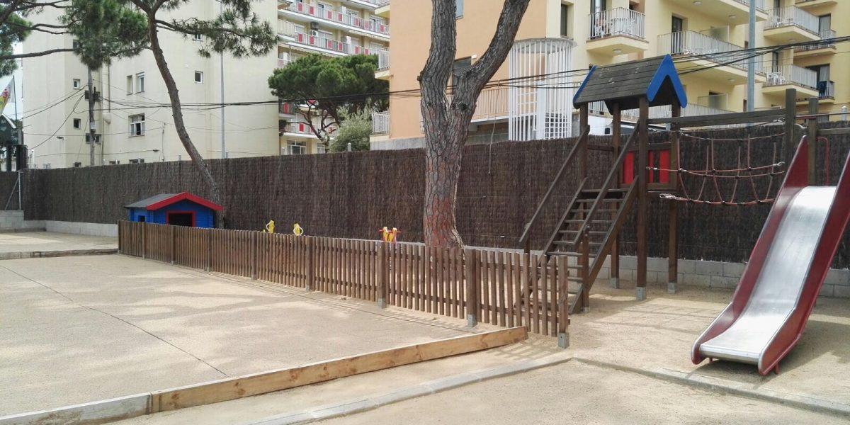 The children playground